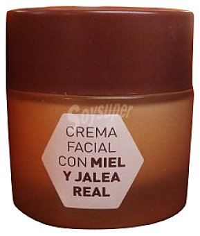 DELIPLUS Crema facial miel y jalea real TARRO 50 cc
