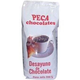 Chocolates peca Bolsas de desayuno sin azúcar Bolsa 300 g