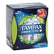 Tampones compak pearl super Caja 18 u Tampax