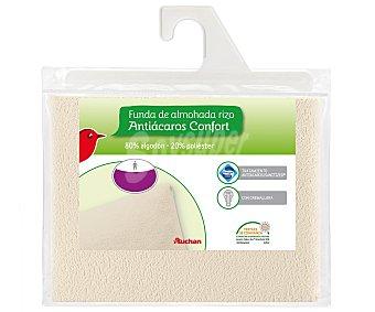 Auchan Funda protectora de almohada elástica antiácaros, 135 centímetros 1 Unidad
