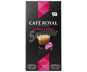 Pescados Royal Café lungo forte Caja 10 capsulas