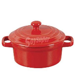 Minicacerola redonda roja 13,