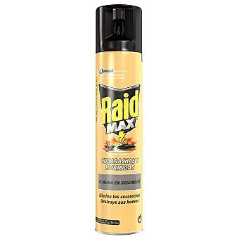 Raid Insecticida contra cucarachas y hormigas 300 ml