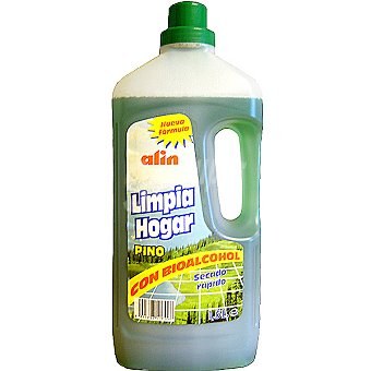 ALIN Limpiador pino con bioalcohol Botella 1,5 l