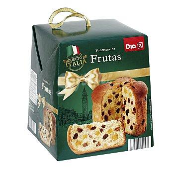 DIA Panettone con frutas caja 500 gr 500 gr
