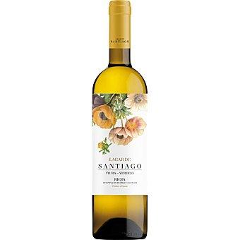 LAGAR DE SANTIAGO Vino blanco viura verdejo D.O. Rioja  botella 75 cl