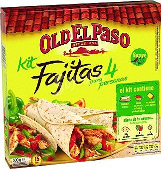 Old El Paso Kit para fajitas 500 GRS