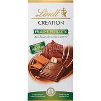 LINDT Creation Creation praliné Feuilleté Tableta 150 g