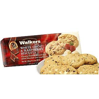 Walkers Galletas con trozos de chocolate blanco y raspberry Paquete 150 g