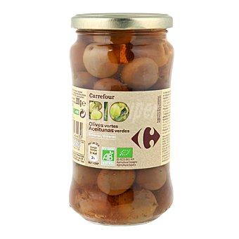 Carrefour Bio Aceitunas verdes enteras 200 g