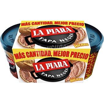 LA PIARA TAPA NEGRA Paté de hígado de cerdo pack 2 lata 225 g Pack 2 lata 225 g