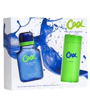 Don Algodón Colonia Cool 100 ml + desodorante spray 150 ml. 1 ud