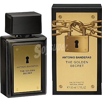Antonio Banderas Colonia Golden Secret para hombre Vaporizador 50 m