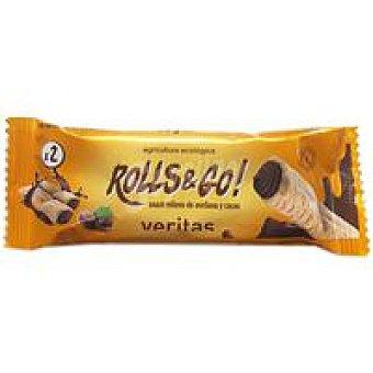 Veritas Snack relleno de chocolate-avellana 25 g