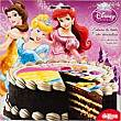 Disco de azúcar 16 cm Disney Sobre 25 g Princesa