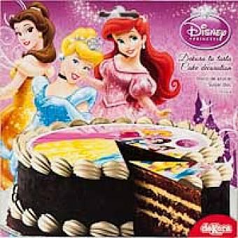 Disney Disco de azúcar 16 cm Princesa Sobre 25 g
