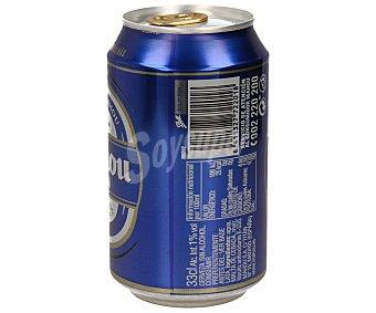 Mahou Cerveza sin alcohol  12 latas de 33 cl
