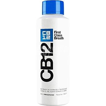 CB12 Original enjuague bucal sabor menta/mentol Frasco 500 ml
