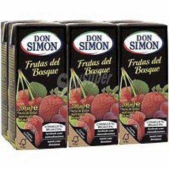 Don Simón Néctar de frutas del bosque Pack 6x20 cl