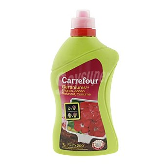 Carrefour Fertilizante líquido geraneo 1 l