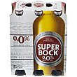 Cerveza 0,0 alcohol Pack 6 botellas 33 cl Superbock