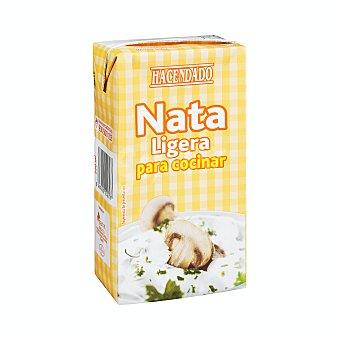 Hacendado Nata para cocinar ligera Brik 500 ml