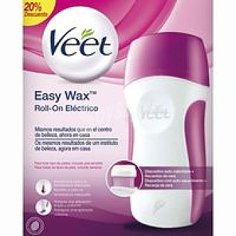 Veet Kit depilatorio eléctrico Roll-on + Recambio