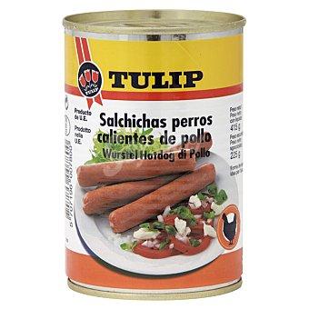 Tulip Tulip salchicha hot dog pollo 415 gr