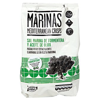 Vidal Patatas sal marina aceite 150g