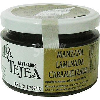 La Tejea Manzana laminada caramelizada Frasco 270 g