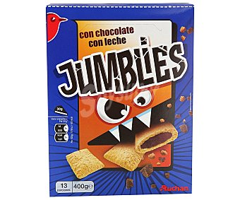 Auchan Cereales de chocolate jumblies 400 g