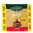 Café molido natural Pack 2x250 g Baqué