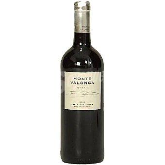 MONTE VALONGA vino tinto Syrah crianza Valle del Cinca Aragón  botella 75 cl