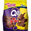 Minix Mr Brown bizcochitos brownies 6 unidades Paquete 150 g Qé!