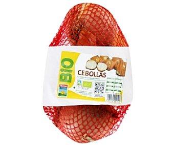 Auchan Producción Controlada Cebollas biológicas Malla de 1 Kilogramo