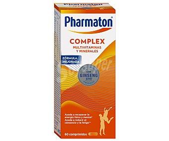 Pharmaton Complex ayuda a recuperar la energía con vitaminas y minerales con Ginseng G115 ápsulas blandas Caja 60 c