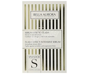 Bella Aurora Serum efecto flash, que combate las arrugas y las líneas de expresión Splendor 30 ml