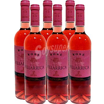 SEÑORIO DE VILLARRICA vino rosado D.O. Rioja caja 6 botellas 75 cl