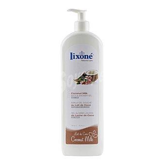 Lixone Gel de baño y ducha de leche de coco 750 ml