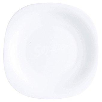 LUMINARC Plato de postre en color blanco 19 cm 1 unidad