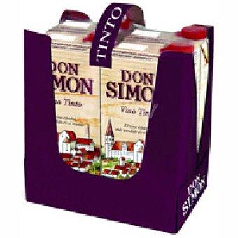 Don Simón Vino Tinto Pack 4x1 litro