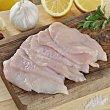 Pechuga pollo fileteada Bandeja de 500.0 g. Carrefour