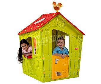Keter Casita infantil de polipropileno reciclable y medidas de 146x110x110 centímetros magic play house
