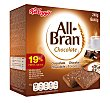 Barritas de chocolate  Caja 6 x 40 g All bran Kellogg's