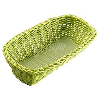 QUO Panera Rectangular en color verde 1 Unidad