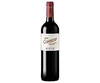 Viña Cumbrero Vino tinto crianza con denominación de origen Rioja Botella de 75 cl