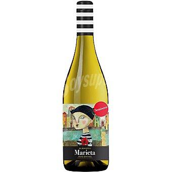MARIETA Vino blanco albariño semiseco D.O. Rías Baixas Botella 75 cl