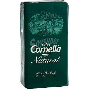 CORNELLA Cafe natural suave molido Paquete 250 g