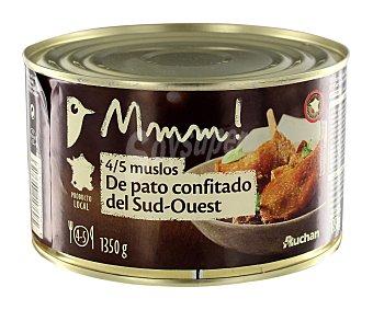 Mmm Auchan Muslos de pato confitado 745 gramos