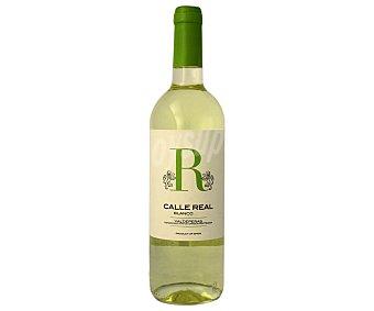 CALLE REAL Vino Blanco Joven Valdepeñas Botella 75 Centilitros